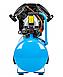 Воздушный 2-поршневой компрессор ALAC-50V 8 бар прямая передача, фото 2