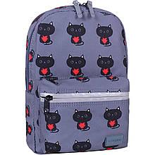 Рюкзак Молодежный mini Bagland 8 л. сублимация 750 котики