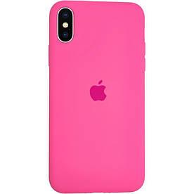 Чохол Silicone Case для iPhone X силіконовий, Dragon Fruit