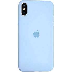 Чохол Silicone Case для iPhone X силіконовий, Lilac