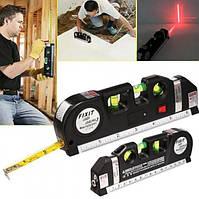 Лазерный уровень со встроенной рулеткой FIXIT Laser level pro 3 в 1