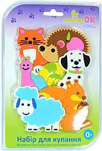 Набор игрушек для купания на присосках Kinderenok Fixi Mixi