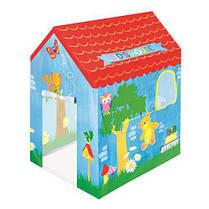 Палатка игровая детская домик 102-76-114см Bestway 52201
