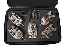 Набор сигнализаторов с пейджером 4+1 Sams Fish SF23997, в кейсе