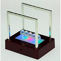 Баланс средний антистресс Шары Ньютона с подсветкой