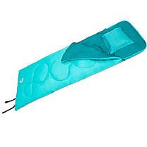 Спальный мешок-одеяло с подушкой Bestway 68101 Evade 5, бирюзовый