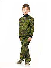 Костюм детский камуфляжный для мальчиков Зарница цвет Мультикам Тропик, фото 3