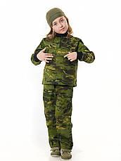 Костюм детский камуфляжный для мальчиков Зарница цвет Мультикам Тропик, фото 2
