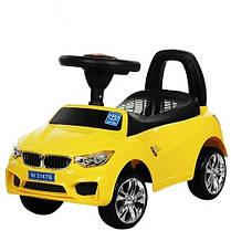Детская каталка-толокар Bambi BMW M 3147B-6, желтая