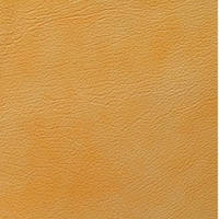 Искусственная кожа желтый (мед) двухцв.
