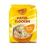 Вівсяні пластівці цільнозернові APTI Haferflocken Vollkern 500 г