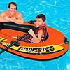 Одноместная надувная лодка Intex 58355 Explorer Pro 100, фото 3