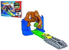 Автотрек Hot Wheel атака гориллы