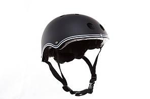 Защитный шлем для самоката детский Globber черный 51-54см (XS) 500-120