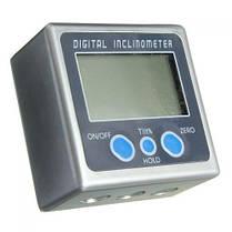 Угломер электронный магнитный уровень транспортир инклинометр