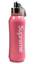 Термос вакуумный Supreme 800мл с чашкой, розовый 4786