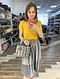 Сумка в стиле Диор Леди серебряная фурнитура (0287) Розовый, фото 6