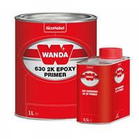 Грунт епоксидний Wanda 630 2K + Затверджувач епоксидного грунту 360 HARD (комплект 1л + 0,5л)