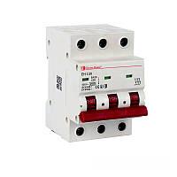 ElectroHouse Автоматический выключатель 3 полюса 20А