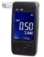 Персональный алкотестер AAT 101-LC с полупроводниковым датчиком, LCD дисплеем + часы,температура