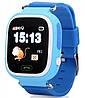Smart часы детские с GPS Q90, голубые, фото 6