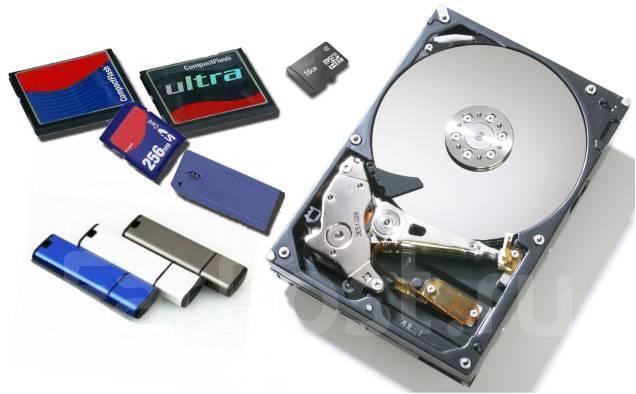HDD и SD-карты