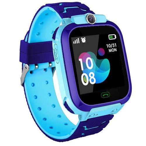 Смарт-часы детские TD07S с GPS и камерой, синие