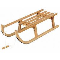 Зимние санки Alpen wooden foldable sled 110