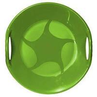 "Зимние санки-тарелка ""Alpen Ufo"" зелёные"