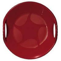 """Зимние санки-тарелка """"Alpen Ufo"""" красные"""