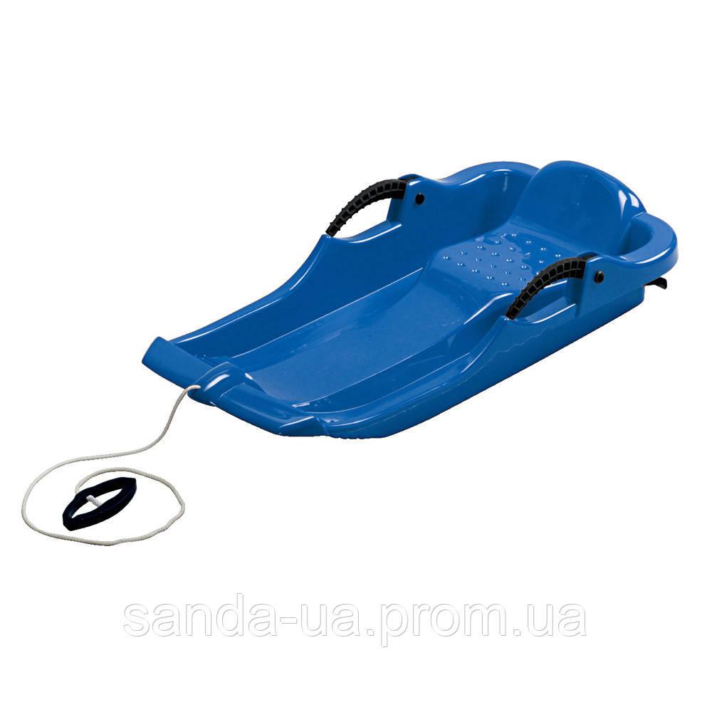 "Зимние санки ""Alpen Spider"" синие"