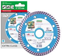 Отрезной алмазный круг  (высокоармированный бетон) TURBO EXTRA 125х2,2х9х22,23