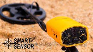 Металлоискатель AR944 с распознаванием металлов и своим акамулятором металошукач AR944 Желтый