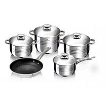Набор посуды из нержавеющей стали Blaumann BL-3161 9 предметов