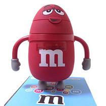 "Бутылка для воды и напитков Stenson""M&Ms"" R84902, небьющаяся, Красная"