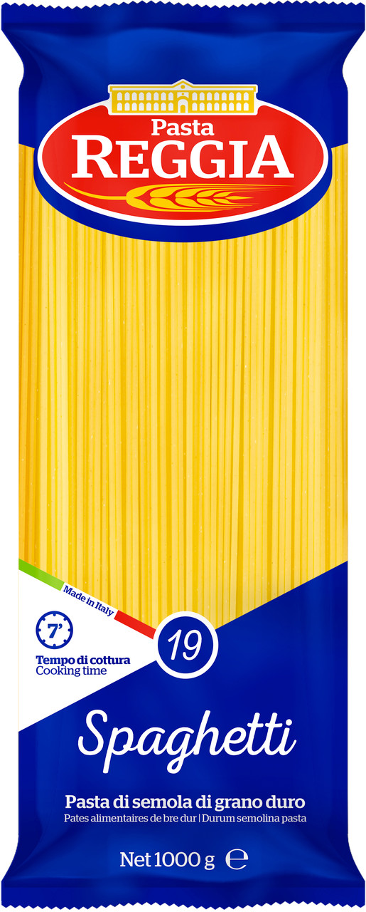 Макарони Pasta Reggia spaghetti 19 , 1кг