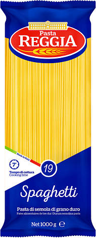 Макарони Pasta Reggia spaghetti 19 , 1кг, фото 2
