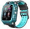 Смарт-часы детские с GPS Brave T10N, красно-голубые, фото 3