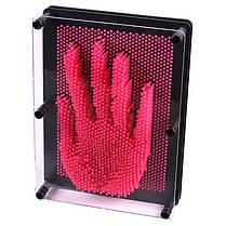Экспресс-скульптор  PIN - ART Пин-арт большой 20 см (пластик) красный