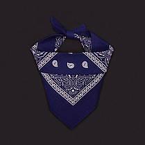 Бандана платок dark blue