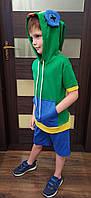 Детский костюм ZaKo Леон Бравл Старс 134 размер