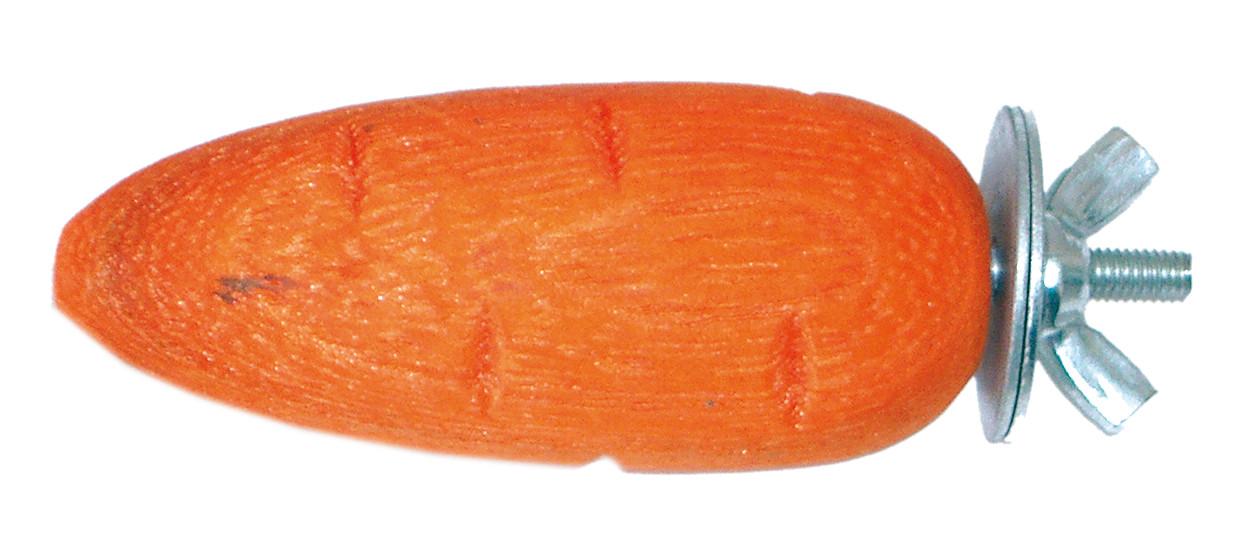 Погрызушка для грызунов Croci, морковь 7*3,5 см 2 шт/уп (цена за уп.)