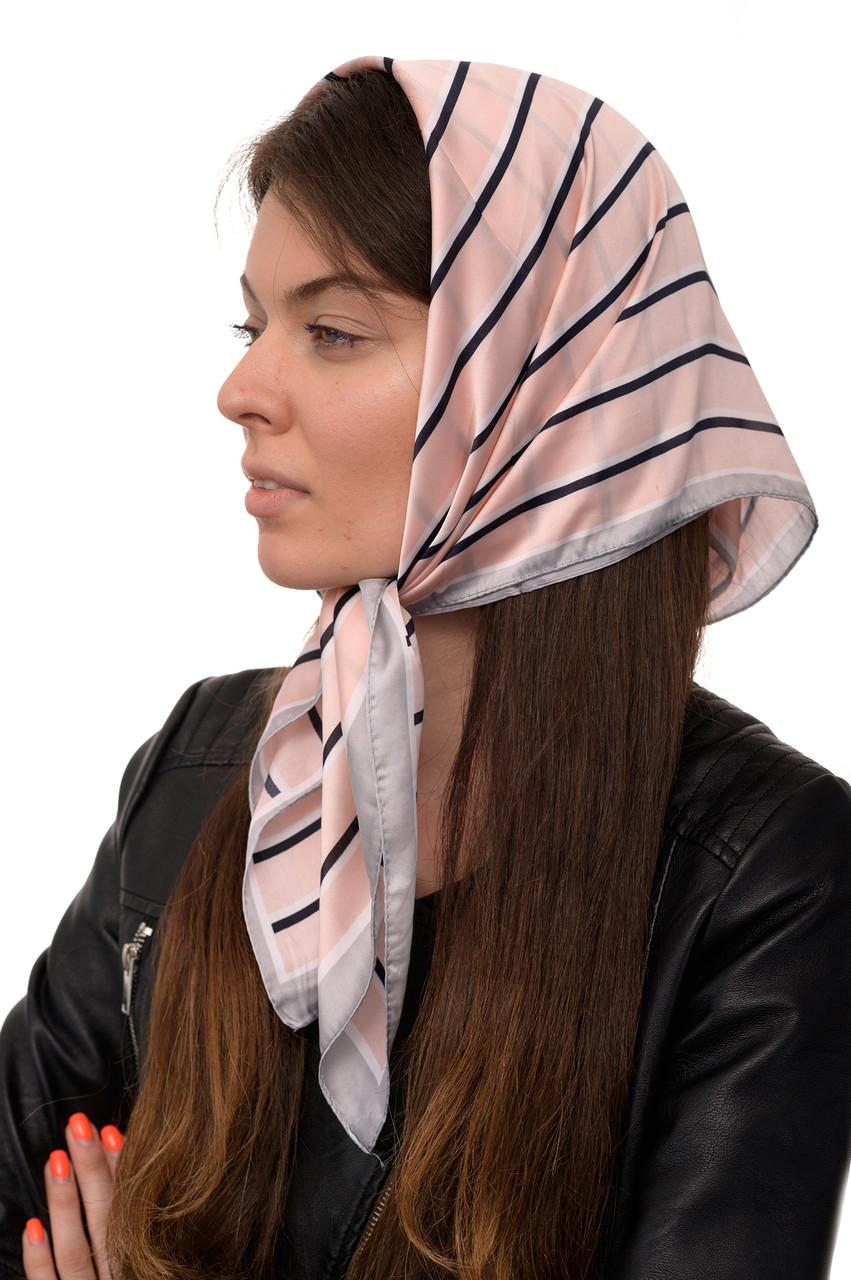 Платок Softel Размер 70*70 см Розовый