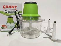 Измельчитель блендер овощерезка электрический с двухъярусным лезвием 250 Вт GRANT 6116