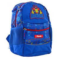 Рюкзак дошкольный 1ВЕРЕСНЯ К-20/556513 Robot, синий, фото 1