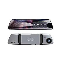 Видеорегистратор зеркало с двумя камерами REMAX Weon Series Driving Recorder CX-06 1080p, серый