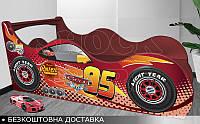 Кровать машина Тачки Shock Cars от 1400х700, фото 1