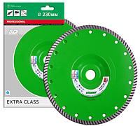 Отрезной алмазный круг  (тяжелый бетон) TURBO ELITE ACTIVE 230х2,6х9х22,23/F