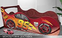 Кровать машина Тачки Shock Cars от 1400х700
