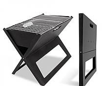 Портативный складной мангал гриль-барбекю Portable Foldable BBQ